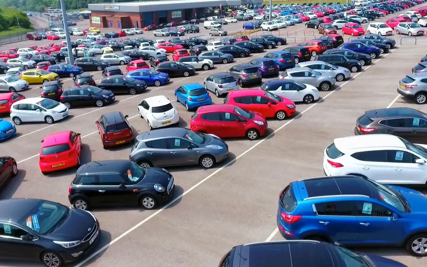 Car Supermarket With Nearly New Used Cars For Sale Direct Cars